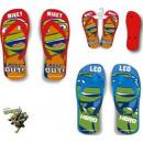 pantofole per bambini, flip-flop Ninja Turtles 27-