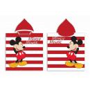 DisneyMickey ręcznik plażowy ponczo 50 * 100cm