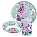 My little pony cutlery set, melamine set