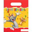 grossiste Emballage cadeau: Tom and Jerry cadeau Sac 6 pièces