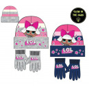 wholesale Childrens & Baby Clothing: LOL Surprise Gloves Kids Gloves + Cap