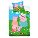 Peppa Schwein Kinderbettwäsche 100 × 135cm