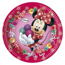 wholesale Party Items: DisneyMinnie Sweet Paper Plate 8 pcs 23 cm