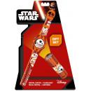 Lampe de poche + LED montre numérique Star Wars
