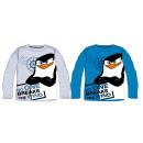 Madagaszkár Pingvinjei gyerek hosszú ujjú póló