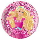 Barbie Magic Paper Plate 8 pcs 20 cm