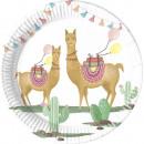 Llama, Lama Paper tray 8 pieces 20 cm