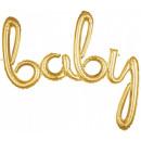 Baby Foil Balloons Gold 99 * 83 cm