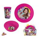 Vaisselle, ensembles en plastique de Disney Soy Lu