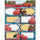 Libretto Label 16 pezzi Disney Cars, Cars