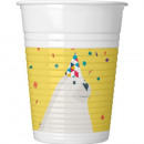 wholesale Drinking Glasses: Arctic, Arctic Plastic cup 8 pieces 200 ml