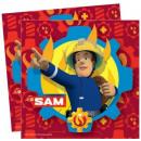 Fireman Sam , Sam's firefighter's napkin i