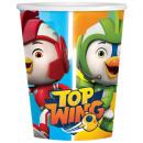 mayorista Regalos y papeleria: Super Wing Paper Cup 8pcs 250 ml