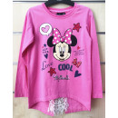 DisneyMinnie kids lacy long sleeve t-shirt 3-8