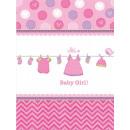 Baby Girl Obrus 138 * 259 cm