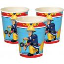 Fireman Sam , Sam's Fire Paper Cup is 8 pcs