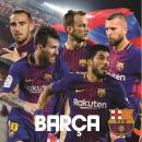 FCB, FC Barcelona kussen, kussen 38 * 38 cm