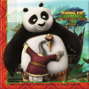 Kung Fu Panda napkin with 20 pieces