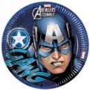 Avengers , Talerz papierowy Avengers 8 szt. 23 cm