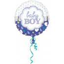 Baby Boy Foil Balloons 43 cm