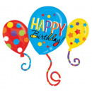 Happy Birthday Folienballons 86 * 78 cm