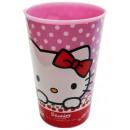 Hello Kitty kubek, z tworzyw sztucznych