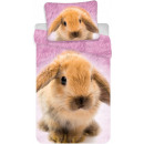 Conejito, ropa de cama de conejo 140 × 200 cm, 70
