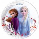 Disney Frozen 2, komposztálható papírtányér 23 cm