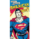 Superman bath towel beach towel 70 * 140cm