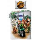 LEGO Jurassic World bed sheets 140 × 200cm, 70 × 9