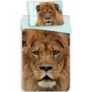 Großhandel Bettwäsche & Matratzen: Lion Leinen 140 x 200 cm, 70 x 90 cm