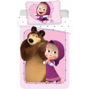 Masha and the Bear Kids' Bedding 100 × 135cm