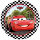 Disney Cars, Cars papieren bord 8 stuks 19,5 cm