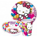 Kitchenware, melamine set Hello Kitty