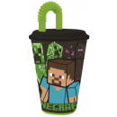Minecraft Suction cup, plastic 430 ml
