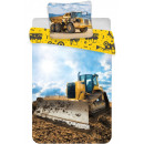 Construction site Children's bed linen cover 1
