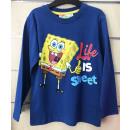 ingrosso Ingrosso Abbigliamento & Accessori: T-Shirt a maniche lunghe per bambini SpongeBob 2-6