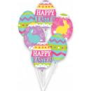 Ostern, Ostern Folienballons Set mit 6 Stück