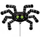 Großhandel Partyartikel: Halloween Spider Mini Folienballons