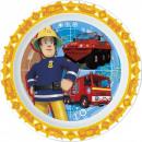 Fireman Sam , Sam  das Feuer Mikro flache Platte