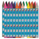 Disney Ice Charm Crayon 24pcs