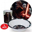 Tableware, melamine sets of Star Wars