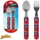 Cutlery Set - 2 Spiderman , Spiderman