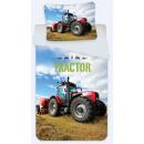 Pościel traktorowa 140 × 200 cm, 70 × 90 cm