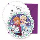 Disney frozen , Ice Party Party Invitation 6 pcs