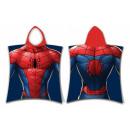 Spiderman , Spiderman towel poncho 50 * 115 cm