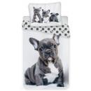 French Bulldogs bed linen 140 × 200cm, 70 × 90 cm