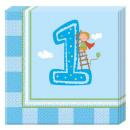 Erster Geburtstag Servietten 20 Stück