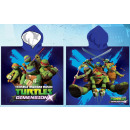 Ninja Turtles beach towel poncho