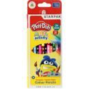Dwustronne, trójkątne kolorowe kredki Play-Doh